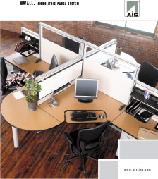 AIS MWALL Furniture Brochure
