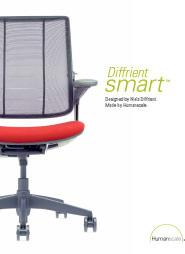 HUMANSCALE Diffrient Smart Brochure