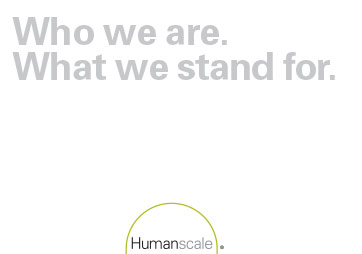 HUMANSCALE Brand Book