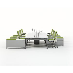 Open Plan Benching Systems Greenville SC